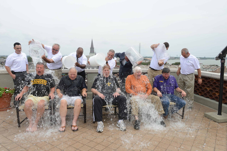 ALS Ice Bucket Challenge - Lower Mississippi River port CEOs